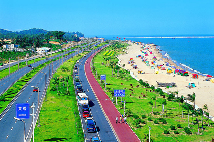 车游世界上最漂亮的马拉松赛道-----【环岛路黄金海岸】欣赏无限海岸