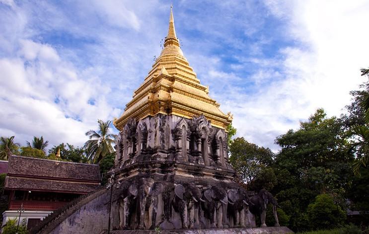 早上我们集合后前往,在泰国,大象是神圣的动物,也是最亲密的好朋友,更