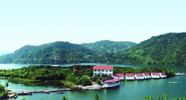衢州九龙湖,太阳岛,龙游石窟休闲汽车2日游(住太阳岛上)